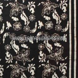 Batik Yogya Cap Petilan Tumpal Kupu Cemeng Slarak BTN