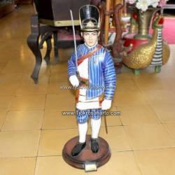 Patung Prajurit Kraton 60 cm Patang puluh GND