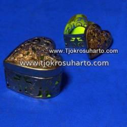 EBG 194 Box Tatah Grajen Kuningan 4 cm tg: 4 cm Jantung TNI x