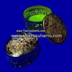 EBG 183 Box Tatah Grajen Kuningan 5 cm tg: 4 cm Oval TNI