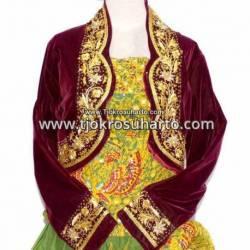 DPP 010 Pakaian Manten Takwo Gim  benang mas Permata Putri