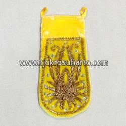 Kantong Gelung Bludru Minyak Kuning SGM