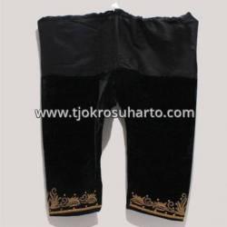 HKB 108 Celana Bludru Minyak Hitam SGM