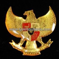 DAT 139 Bros Emas Garuda kecil Risin 3 cm TNI