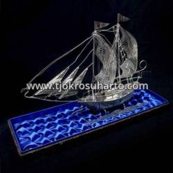 EMT 056 Miniatur Perahu BNI Kecil Trap-trapan SDR