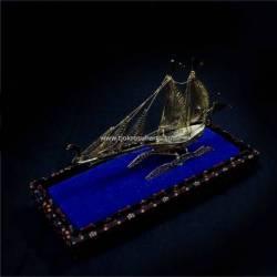 EMT 120 Miniatur Kapal BNI emas kecil WDI