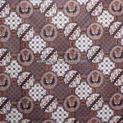 BEP 344 Batik Solo Kombinasi Petilan warna coklat Putri solo SDI