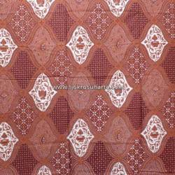 BEP 329 Batik Solo Kombinasi Petilan warna coklat sidodrajat SDI