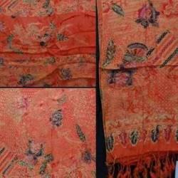 BSR 029 Bahan Semi Sutera sarimbit Kain Panjang selendang BSR 003 (Q) RZK