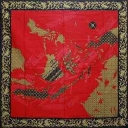BLL 111 Taplak Peta indonesia merah 1,05x1,05 SMR