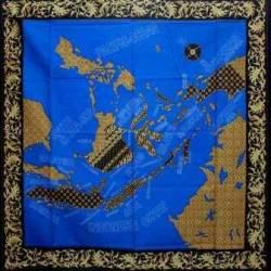 BLL 113 Taplak Peta indonesia Biru 1,05x1,05 SMR