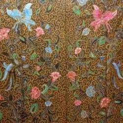 BAP 133 Batik Jogja  Tulis Petilan Warna Riningan Cendrawasih Lung RTI