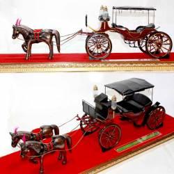 GCC 314 Miniatur Kereta Kraton Rejopawoko+Kuda DVI
