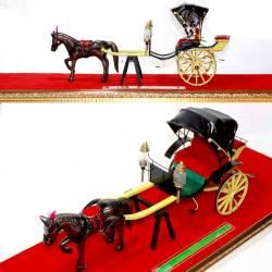 GCC 287 Miniatur Kereta Kraton Kapulitin+Kuda DVI