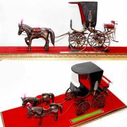 GCC 279 Miniatur Kereta Kraton Manik Retno+Kuda DVI