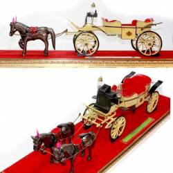 GCC 276 Miniatur Kereta Kraton Jongwiat +Kuda DVI