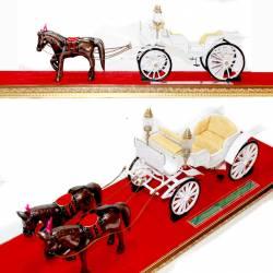 GCC 260 Miniatur Kereta Kraton Victory+Kuda DVI