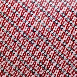 BHH 044 Bahan Printing Colet sogan Parang Gendreh merah SDI