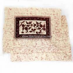 BLT 013 Sarung Bantal persegi warna Merah tua 42x50 cm SMR