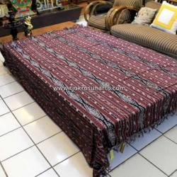 BLT 076 Bed Cover Tenun antik Katun 180 cm TFQ