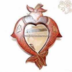 LBA 015 Cermin ikan batik HRU