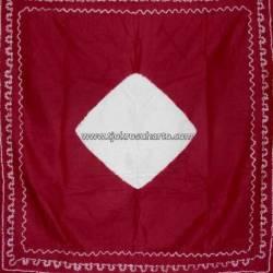 DHJ 066 Udheng Yogya Tritik Merah Bordo SRL