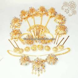 Set Perhiasan Manten Batok trap  (4) BNG
