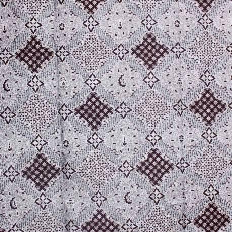 BHR 021 Bahan Rok motif kelengan colet Warna SDI