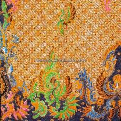 BAP 787 Batik Jogja  Tulis Rakitan Warna Muda Riningan Gedekan Tumpal RTI