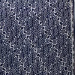 BHH 170 Batik Yogya Cap Petilan Kelengan Biru barong sisik