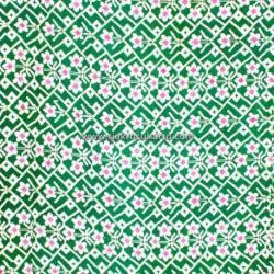 DKC 035 Kain Cinde cap 3 m Colet hijau besar BTN