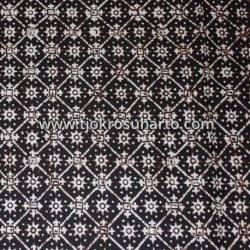 BCP 445 Batik Jogja Cap Motif Nitik Simbar lintang BTN