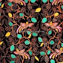 BAP 824 Batik Jogja Tulis Petilan Boketan peksi colet warna TNH