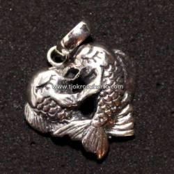 Liontin Perak 925 Batu Ikan (11) SRE