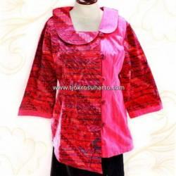 BPR 305 Dress Lurik Pink HGG