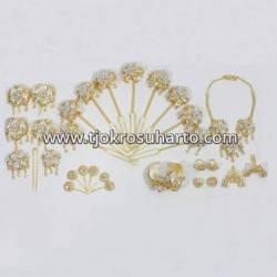 FSM 017 Set Perhiasan Kembang Jambu Silih asih (5) BNG