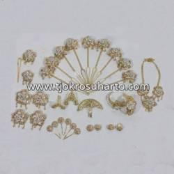 Set Perhiasan Klowong Silih asih  (6) BNG