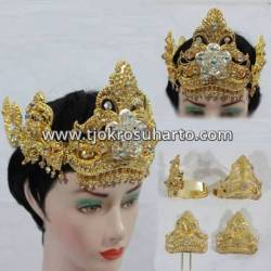 FSM 035 Set Perhiasan Siger Murbai silih asih (1) BNG