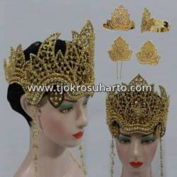 FSM 036 Set Perhiasan Siger Ramadani Grajen tretes (2) BNG