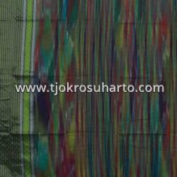 BHT 168 Bahan Tenun Ikat rembo SBY A 210x100 cm NSK