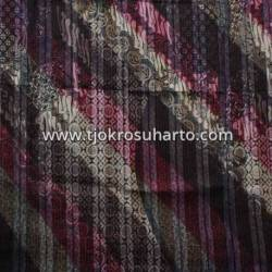BHT 189 Bahan Tenun Ikat Batik Gradasi serat kayu B 210x100 cm NSK