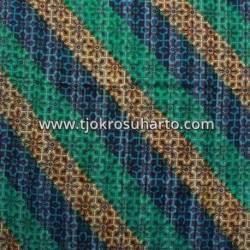 BHT 191 Bahan Tenun Ikat Batik Gradasi serat kayu D 210x100 cm NSK