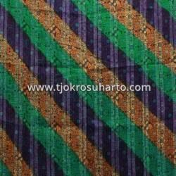 Bahan Tenun Ikat Batik Gradasi serat kayu E 210x100 cm NSK