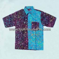 Kemaeja anak katun batik warna 10-11 th (8) ANS
