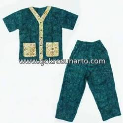 Piyama Anak santung batik warna L (4) ANS