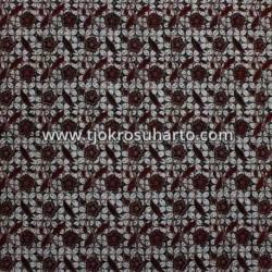 BCP 595 Batik Jogja Cap Motif Kawung Besar MRK
