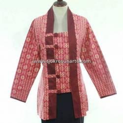 BPR 393 Blus Lurik batik model kuthu baru HGG