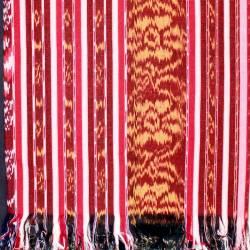 BLT 065 Bed Cover Tenun antik Blangket halus 120 cm (5) NSK