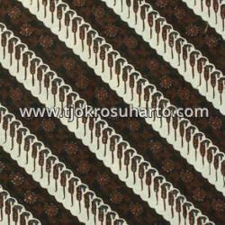 BBR 300 Batik Kombinasi Jogja Motif cabut parang modang putih seling boket SSD