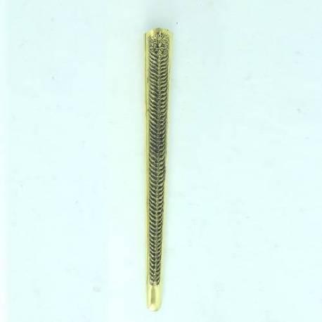 CPD 681 Pendok Yogya 3 mm Tatah buton Kuning bakar Manggaran WLY